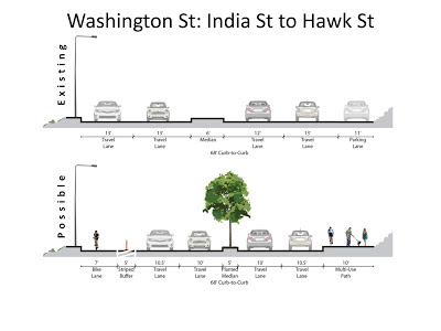Washington Street bike plan