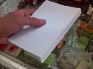Kerajinan Tangan Membuat Sampul Buku Dari kardus