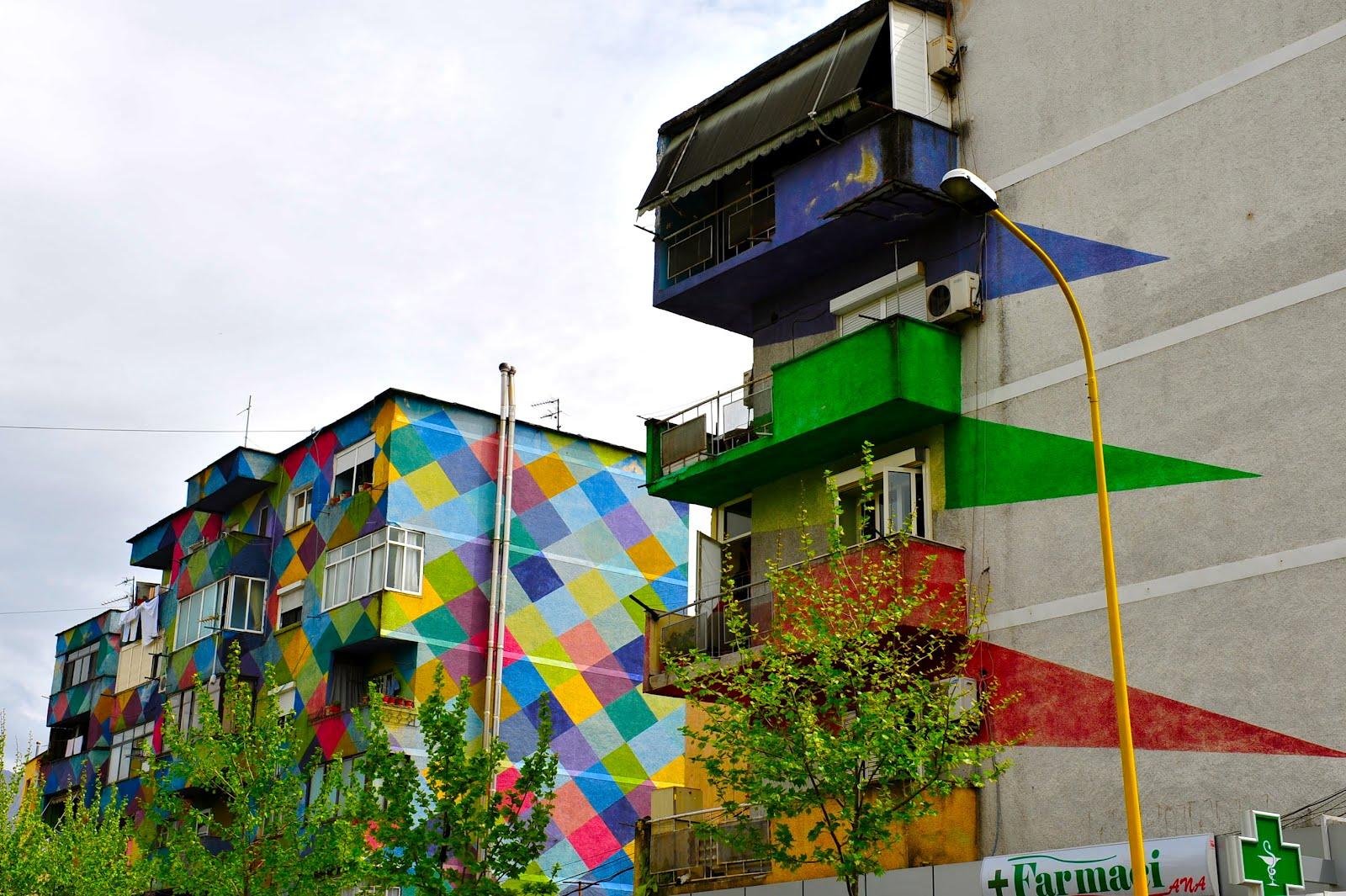 Tirana Painted Houses