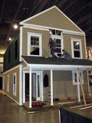 build your own container house