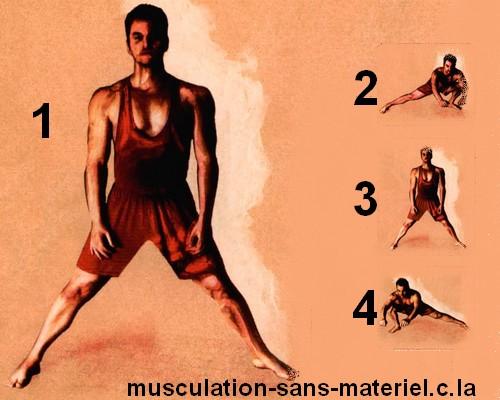 Fabulous musculation sans materiel: cuisses sans materiel VZ55