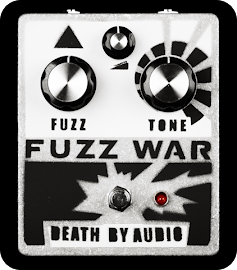 Fuzz War Pedal by Death by Audio.