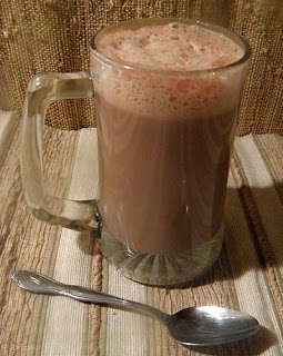 Cuppa Hot Cocoa Toddy with foamy top