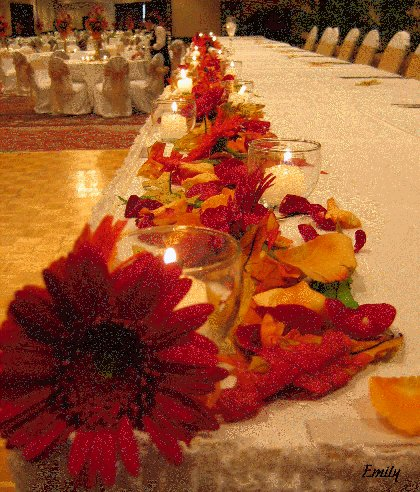 Autumn Wedding Decorations2