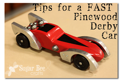 Photo Glimpses Pinewood Derby Sugar Bee Crafts
