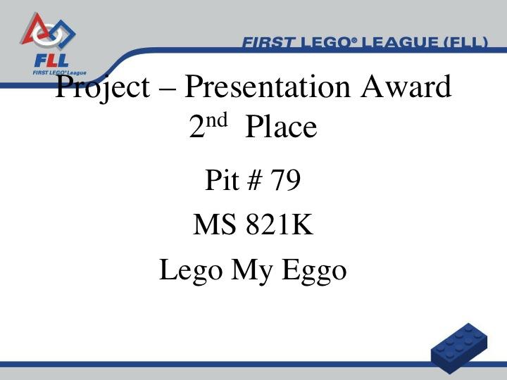 NORM'S ROBOTICS: NYC FIRST LEGO League Award Winners ...