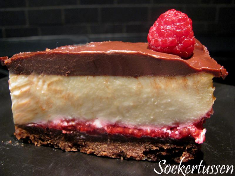 cheesecake choklad digestive