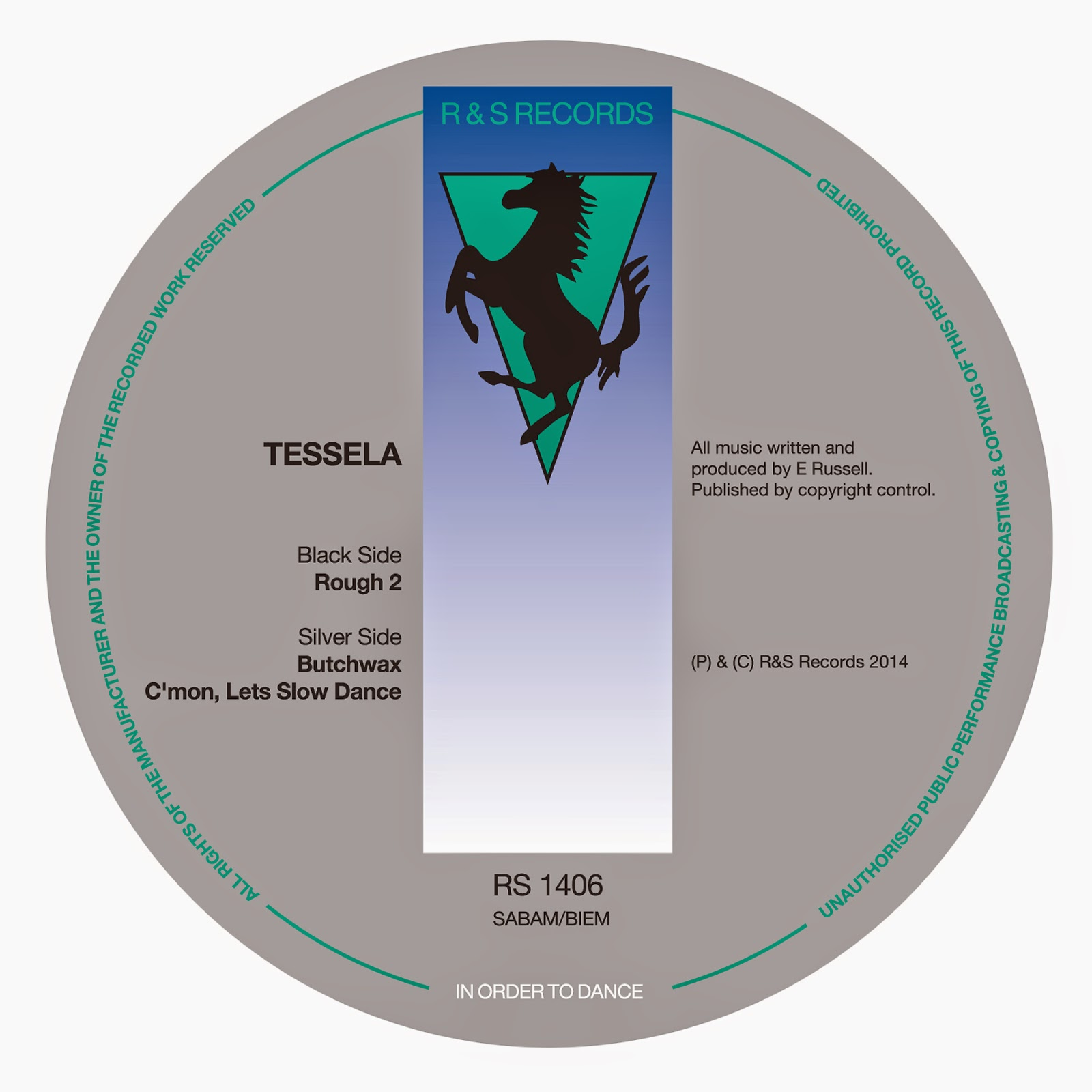 discosafari - TESSELA - Rough 2 - R & S Records