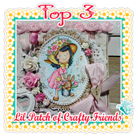 Top 3 Lil Patch of Crafty Friends challenge nº31