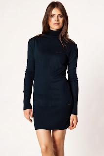 siyah elbise modlei