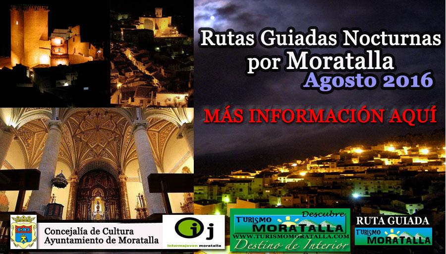 Rutas Guiadas Nocturnas por Moratalla (Agosto 2016)