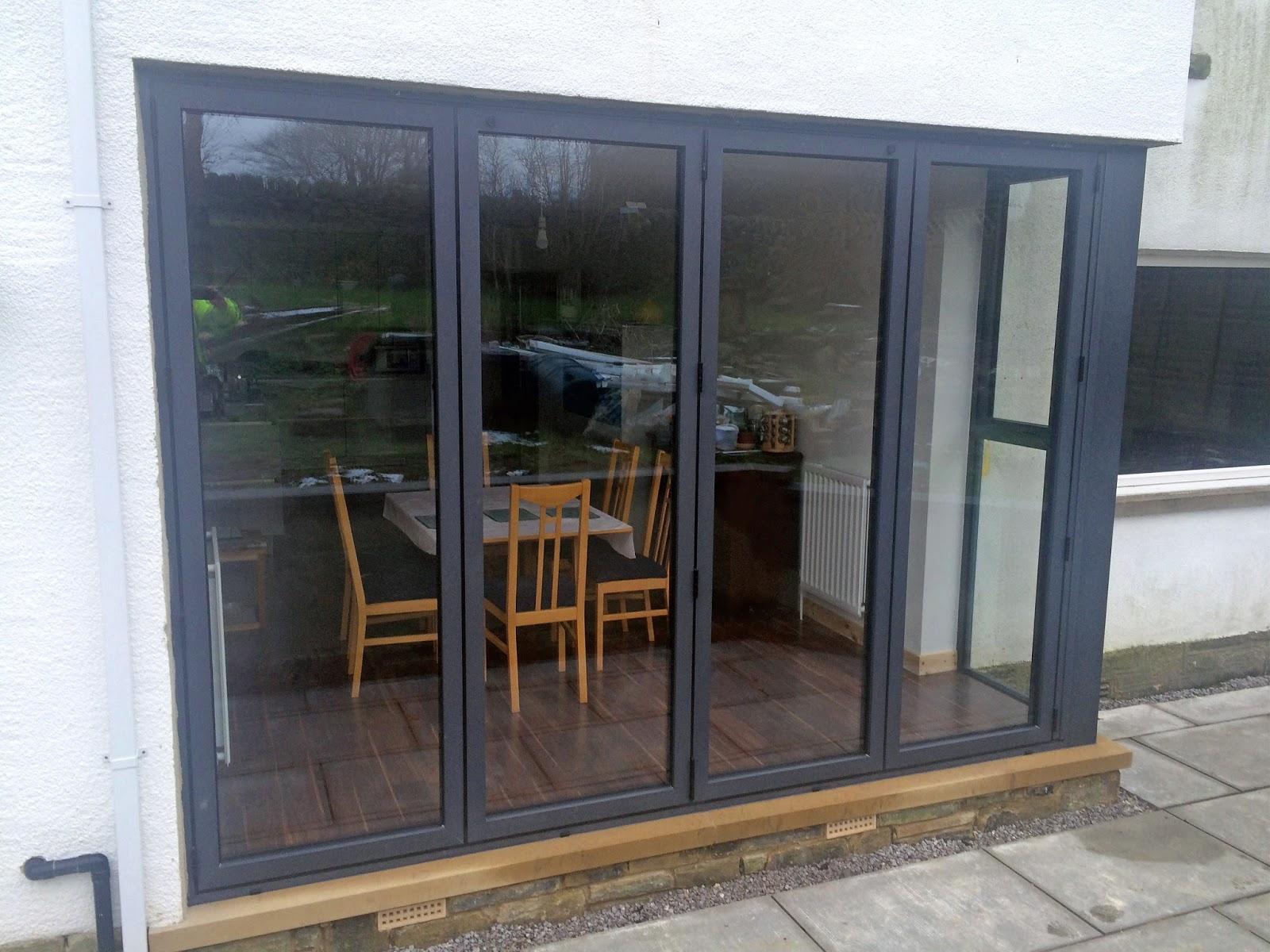 Visofold 1000 bi fold doors Alitherm 800 windows and an Alitherm Plus door & Marlin Windows: Visofold 1000 bi fold doors Alitherm 800 windows ...