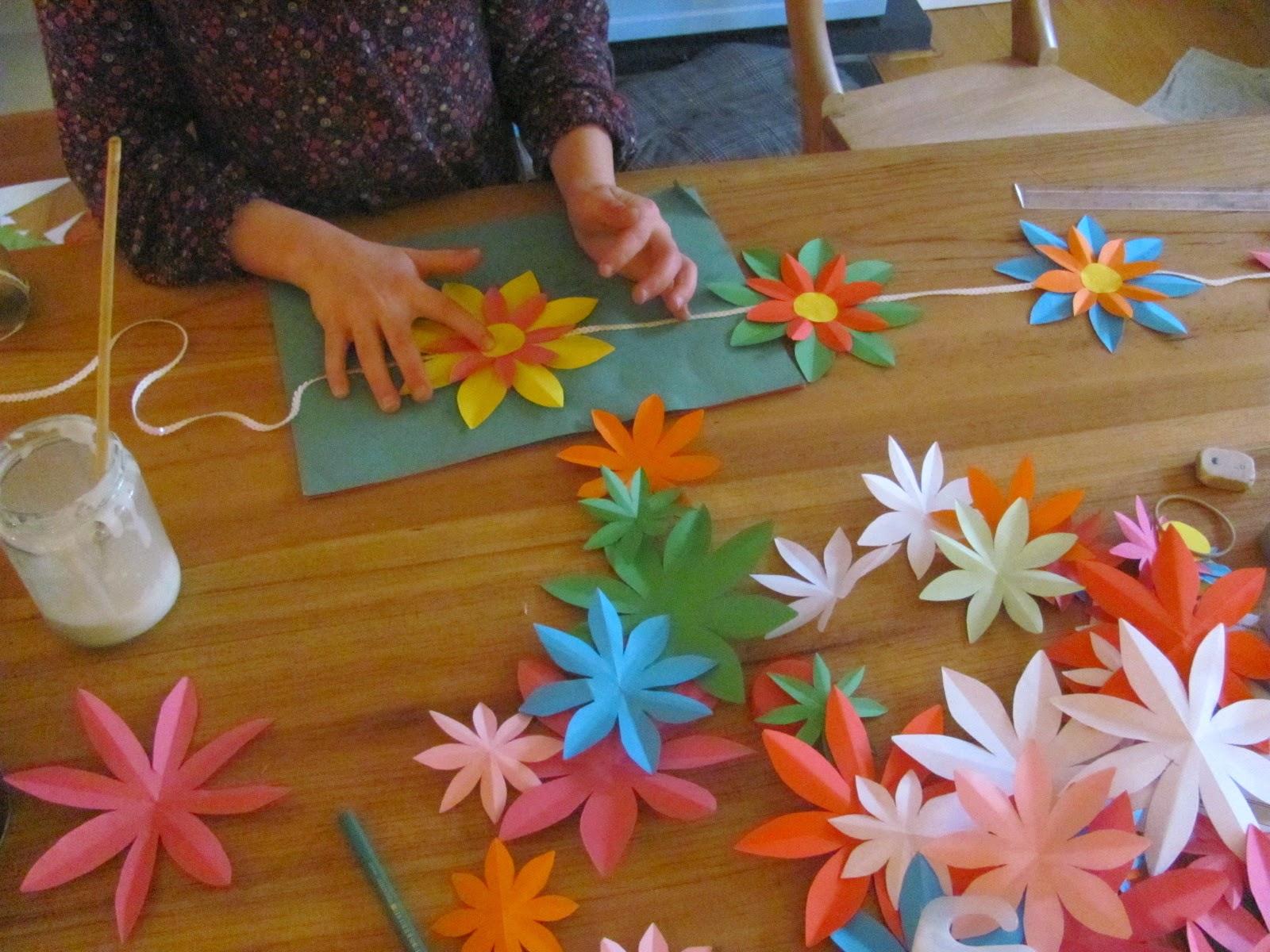 Jumble Tree Easy Paper Flowers