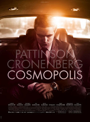 Cosmopolis Poster, Cronenberg, Pattinson, Gadon, Cannes