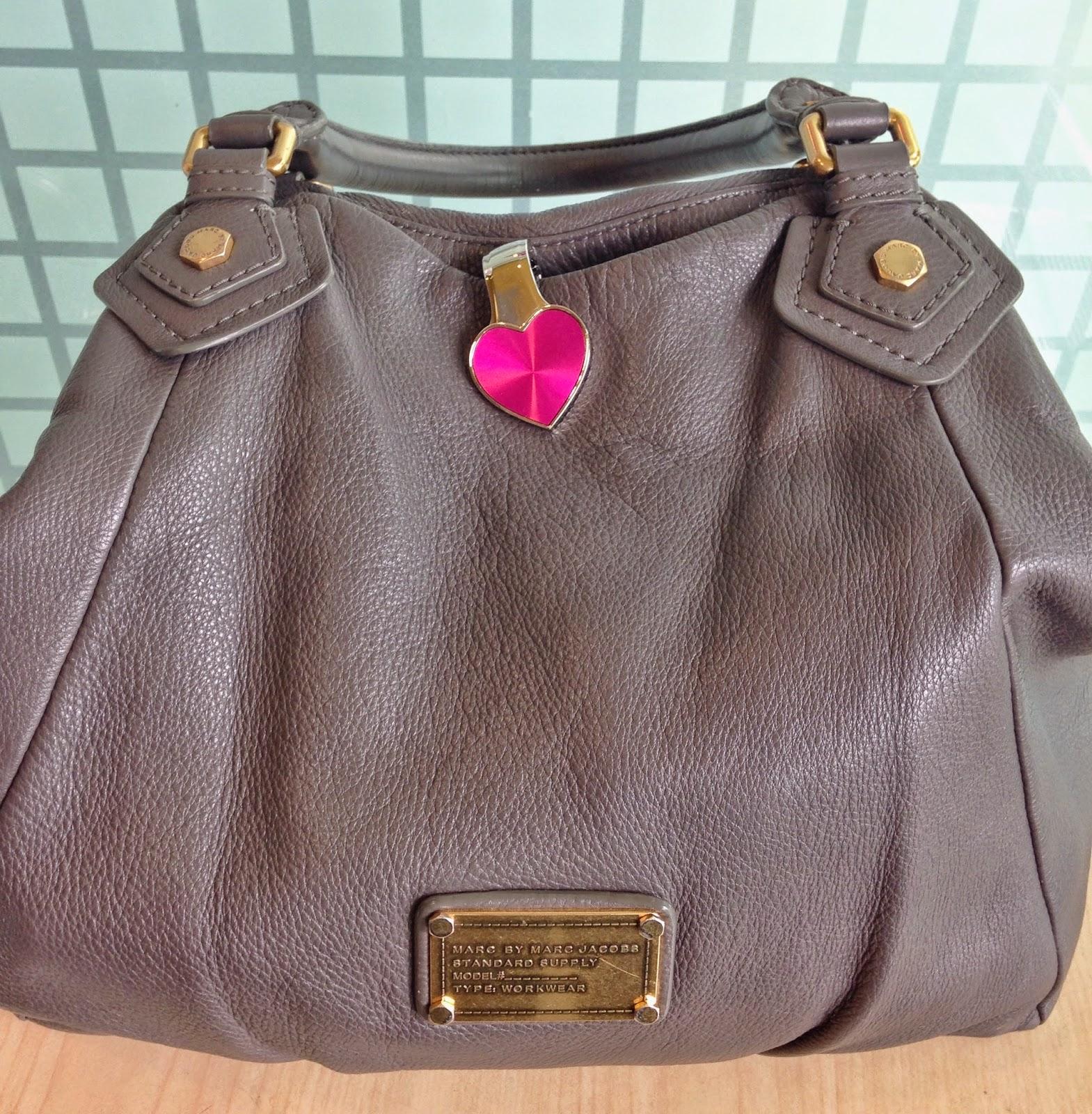 My Bag Pal key holder on a bag - Hello Handbag