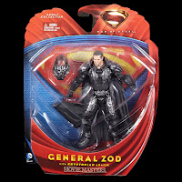 Wave 2 Zod With Armor Man of Steel Movie Masters Action Figure