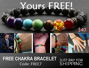 Free Chakra 7-Point Energy Possitivity Healing Bracelet