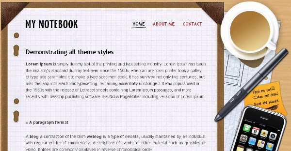 Best Diary Blogger Templates