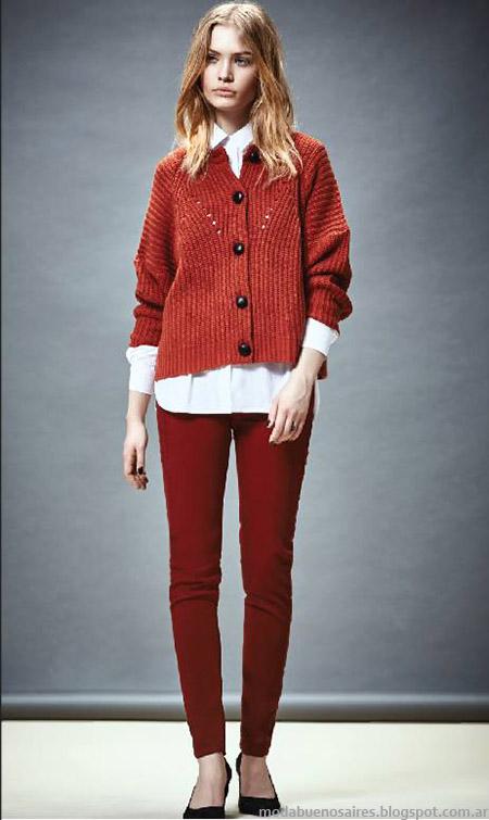 Sweaters y sacos invierno 2015 Akiabara. Moda invierno 2015.
