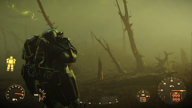 Fallout 4 brotherhood of steel power armor glowing sea