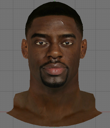 NBA 2K14 Tyreke Evans Face Mod