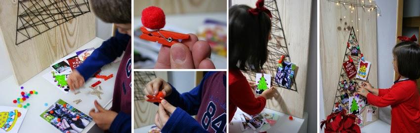 El árbol de navidad handmade de Decorar en familia - DIY6
