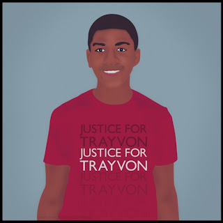 Justice For Trayvon Martin Art
