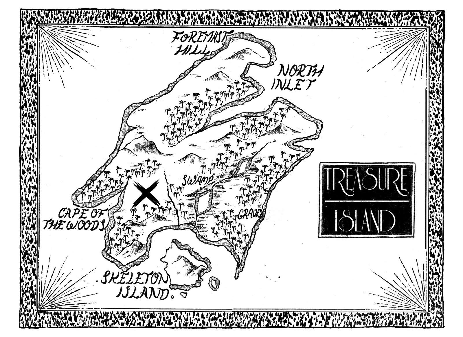 Amazing Treasure Hunt Map Template Adornment - Resume Ideas ...