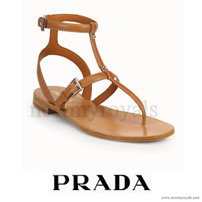 Crown Princess Mary Style PRADA Sandals