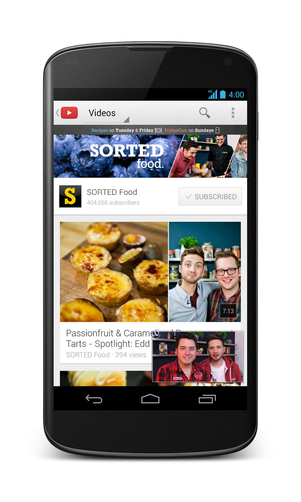 Youtube creator blog nl vermaak je fans langer met de for Cuisine youtube