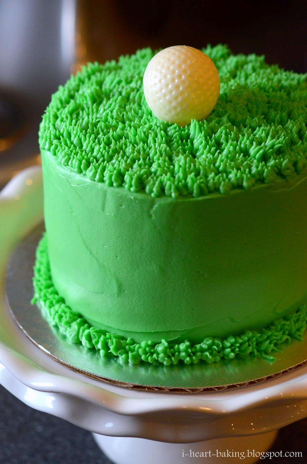 i heart baking golf ball cake chocolate cake with cherries