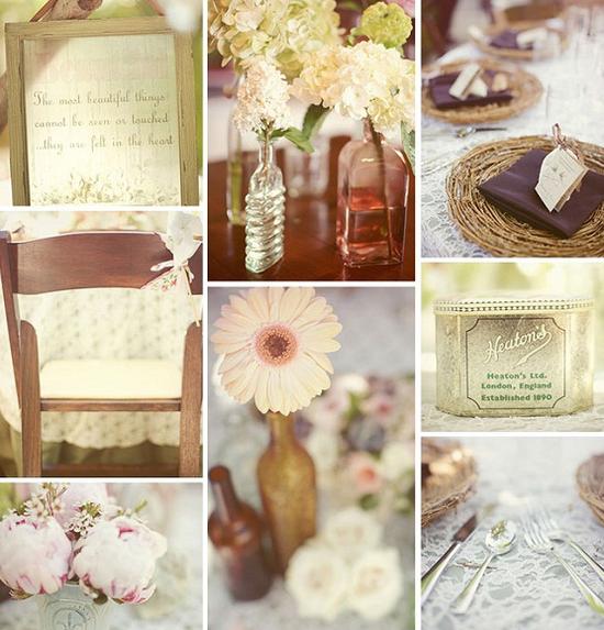 Used Shabby Chic Wedding Decorations : Shabby chic para la decoraci?n de boda weddings