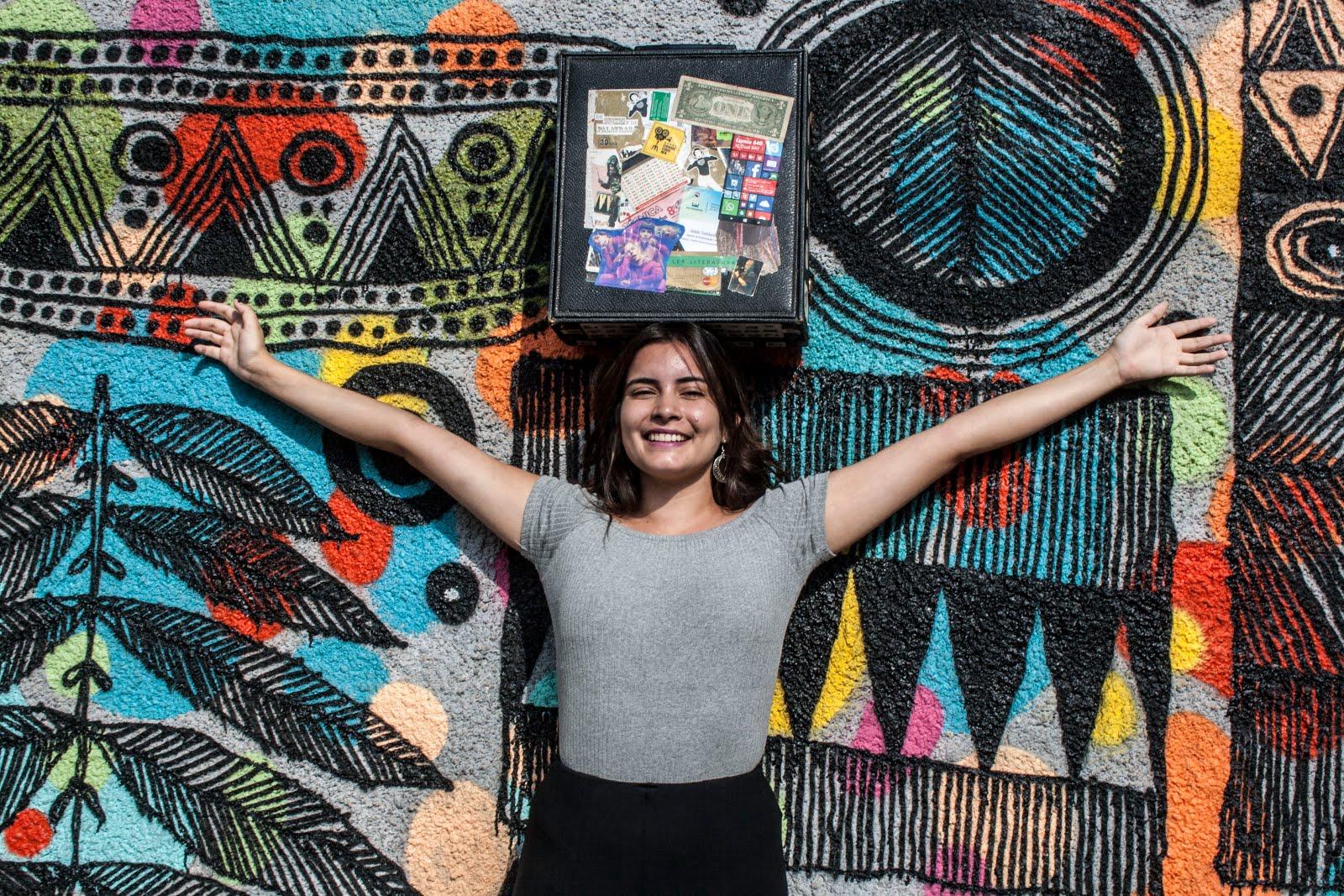 Gabriella Tejada e a Mala da Fama - 2018