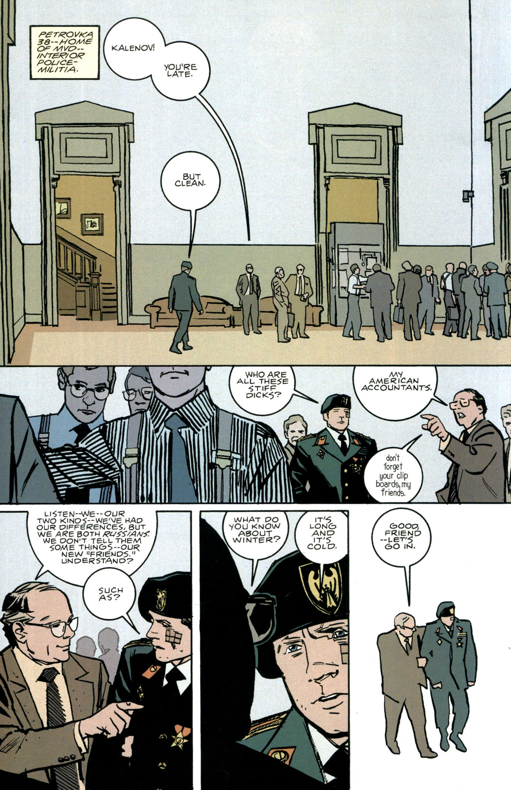 Read online The Winter Men comic -  Issue #1 - 25