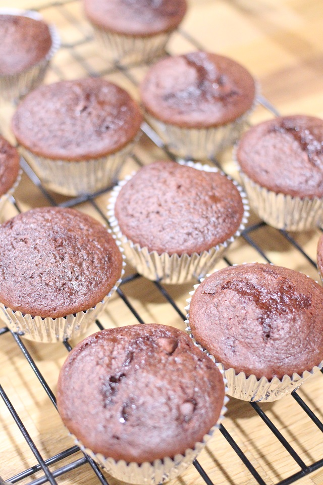 Double Chocolate Mocha Cupcakes Recipe