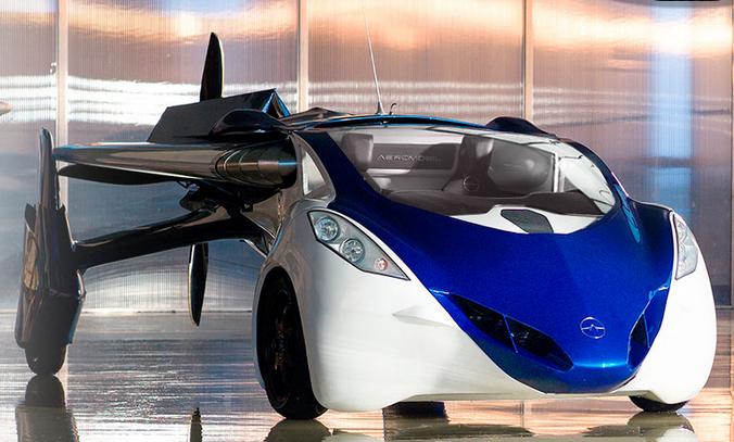 Aeromobil, si Mobil Terbang Teknologi di Tahun 2017