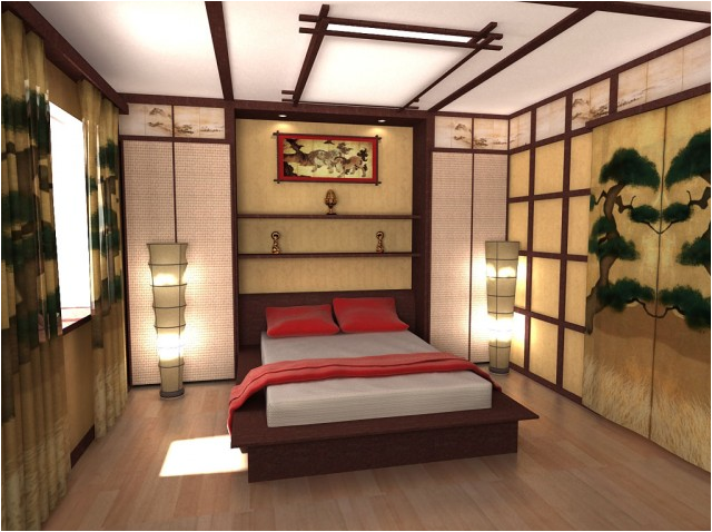 Beau Asian Bedroom Design ...
