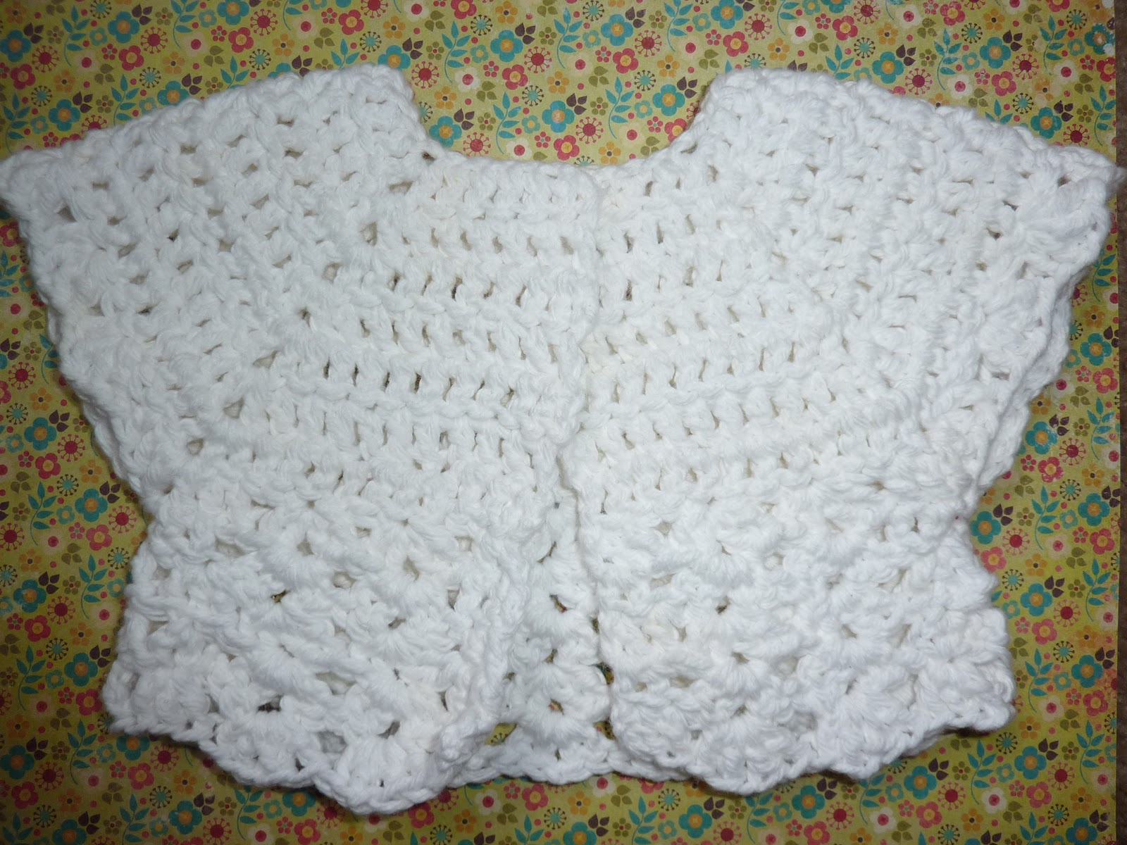 No time to be bored: Some random projects: crochet baby cardigan ...