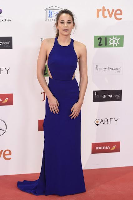 Irene Escolar vestida de Stella McCartney en los Premios Forqué, enero 2016
