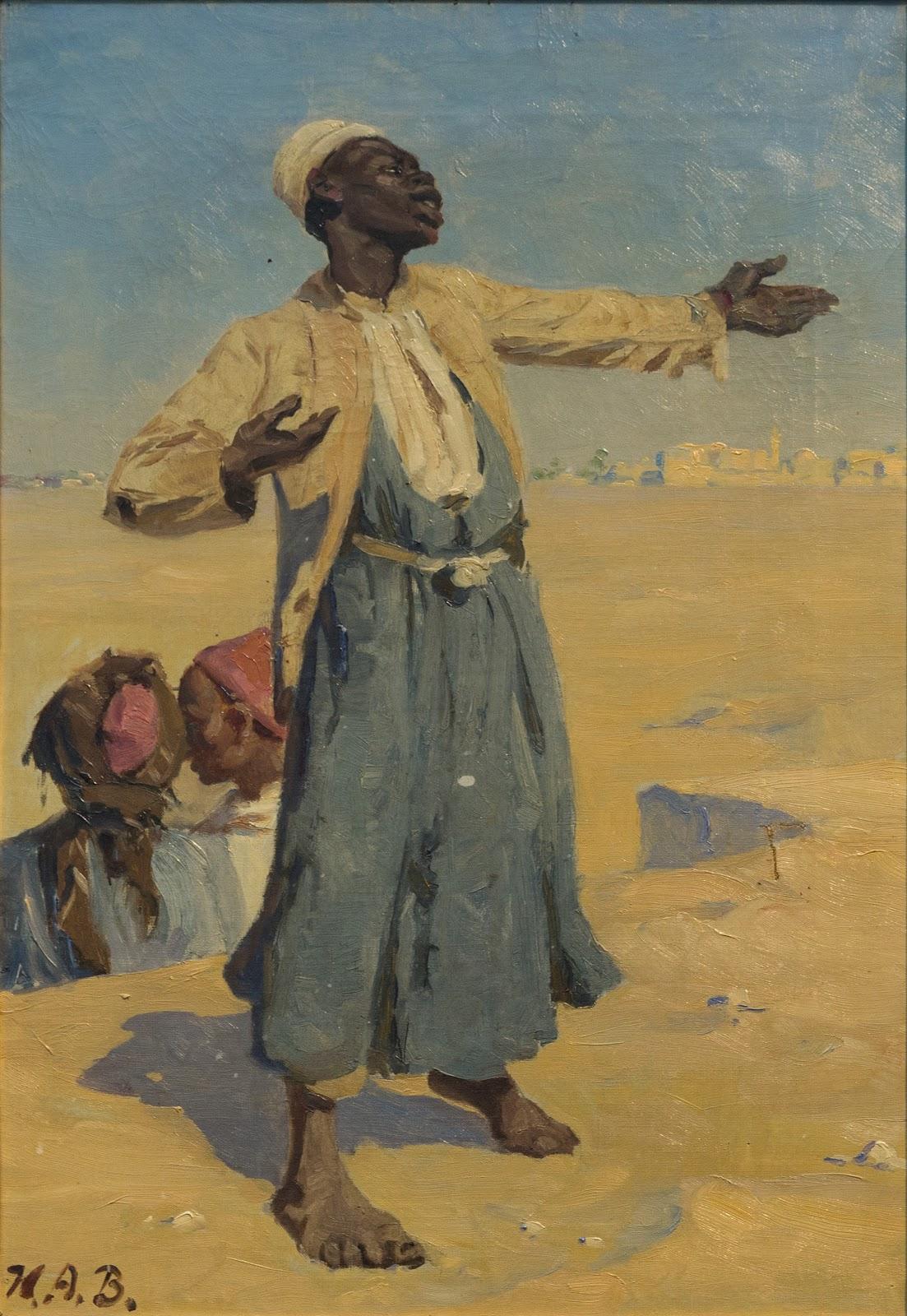 Hans Andersen  rendekilde Standing Arab