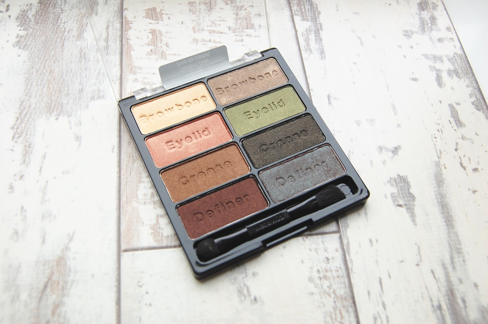 ThroughNewEyes Wet n Wild Comfort Zone palette review and swatches