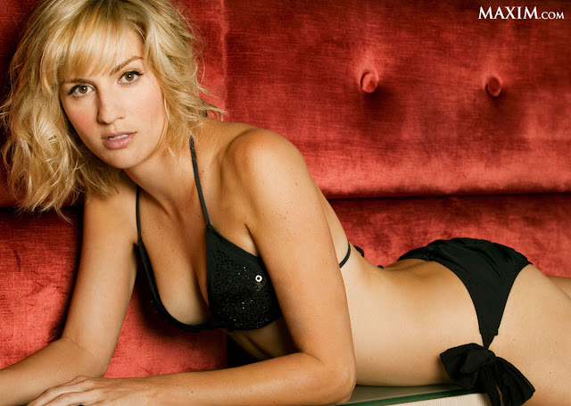 Hot Actress Alison Haislip on Maxim Magazine