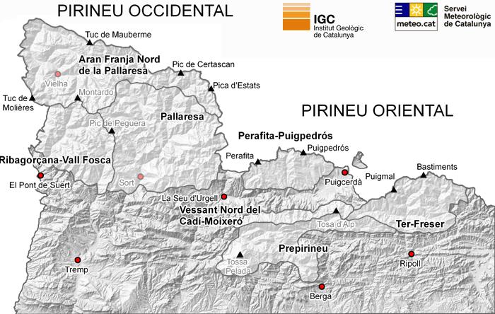 PERILL D'ALLAUS: (Cliqueu sobre el mapa per veure l'estat actual).