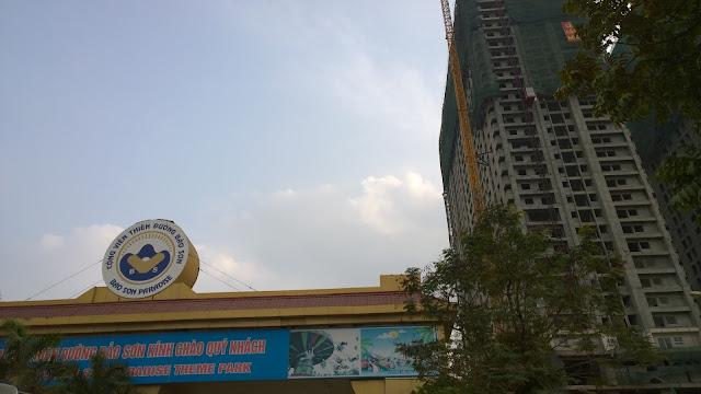 Vị trí chung cư Gemek Tower