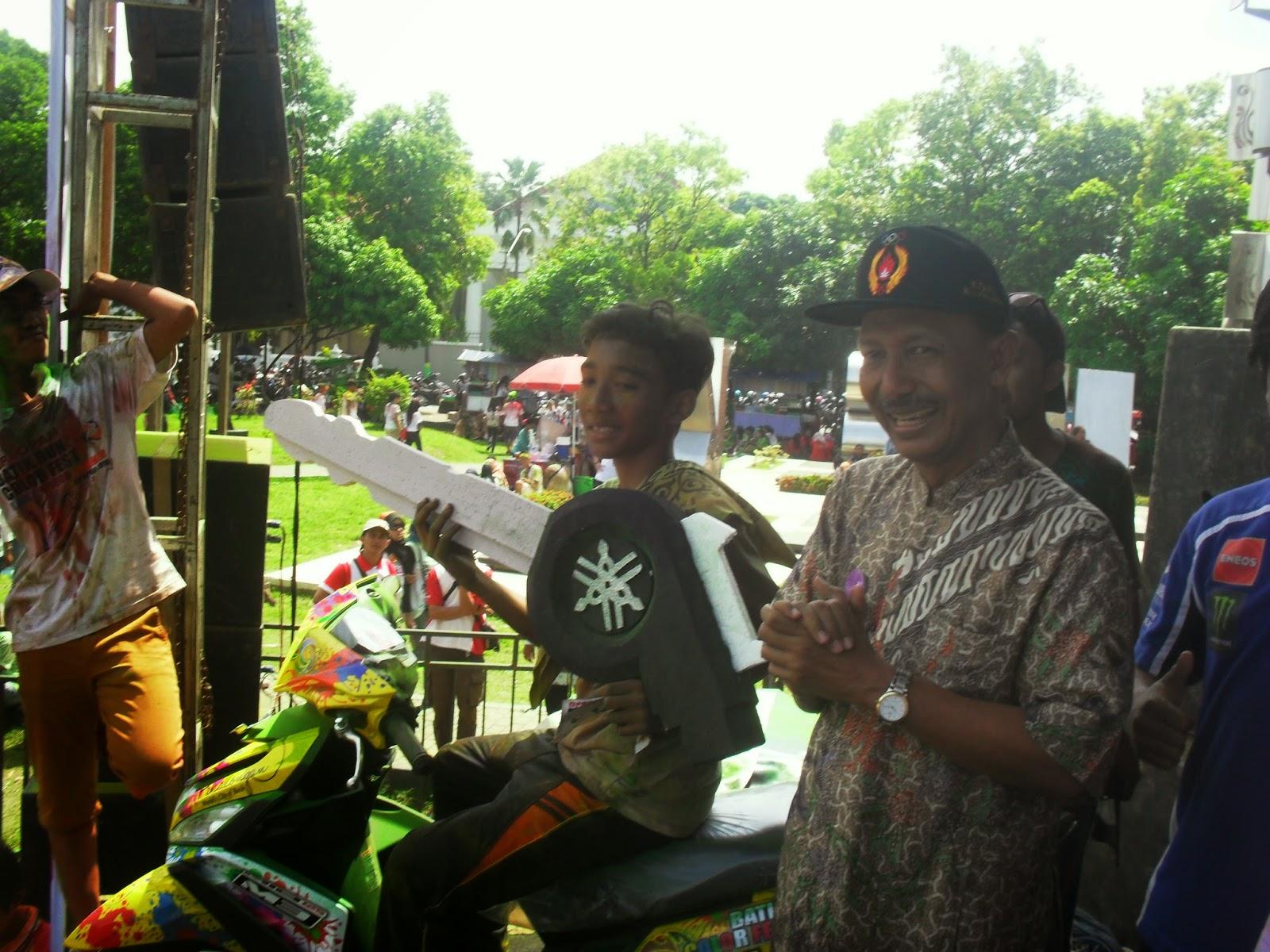 Panitia Colour Run Festival Teledor, Walikota Pekalongan Salah Beri Hadiah Utama