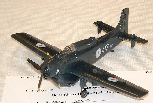 AEW Skyraider model
