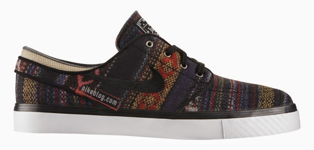 Remaining in rotation, the Nike SB Stefan Janoski brings new look to the skateboard with this awesome Hacky Sack colorway. Covered in pendleton wool like ...