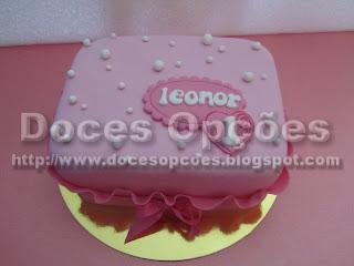 Bolo do primeiro aniversário da Leonor