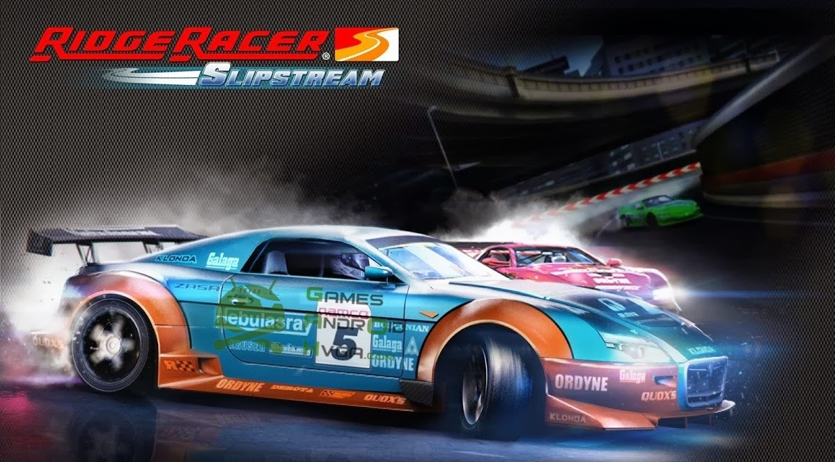 Ridge Racer Slipstream v1.0.19 Apk + Data Mod [Unlimited Money / Torrent]