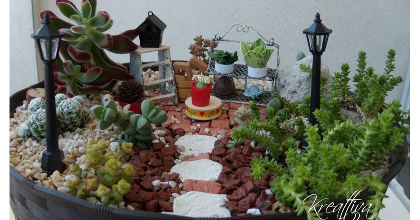 il mio piccolo giardino in miniatura | kreattivablog - Costruire Piccolo Giardino Zen